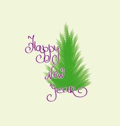 Congratulations happy new year vector image