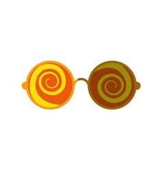 glasses icon image vector image