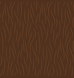 hand drawn brown animal fur texture seamless vector image