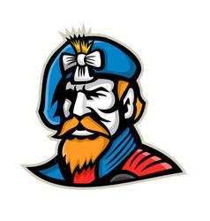 Highlander mascot vector