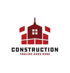 House building inspiration logo design vector