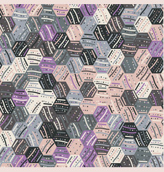 Seamless abstract trendy pattern for surface print vector