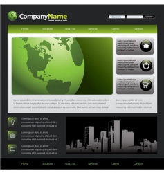 web template 46387a vector image