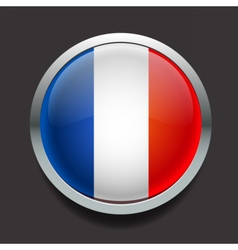 FlagsFrance vector image