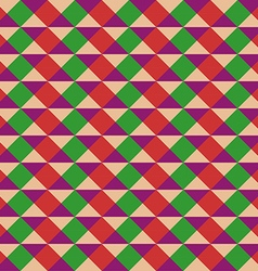 Abstract Seamless Triangular Vintage Pattern vector image vector image