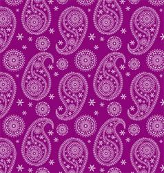 beautiful eastern pattern-India pattern vector image