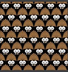 ancient swirl greek seamless ornament pattern vector image