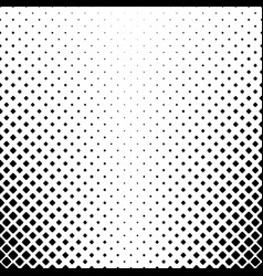 Black and white square pattern background - vector