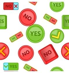 Button pattern cartoon style vector