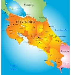 Costa Rica vector