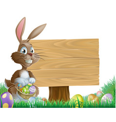 Easter background sign vector