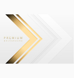 Luxury tech background white paper vector
