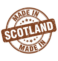 Made in scotland vector