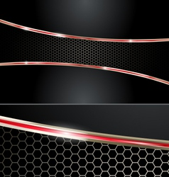 Premium Red Automotive Abstract Background vector image vector image