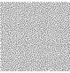 seamless pattern with maze vector image