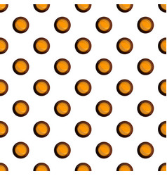 snack choco biscuit pattern seamless vector image