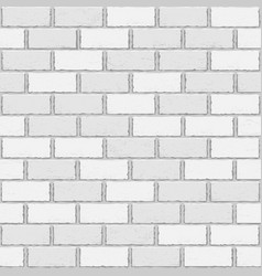 White old brick seamless vector