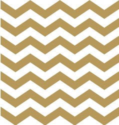 Beautiful gold and white chevron pattern vector image