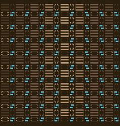 brown geometric pattern vector image
