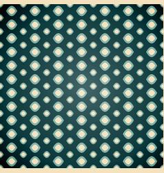 seamless geometric pattern on dark background vector image vector image