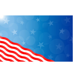 American abstract background with stars and stripe vector