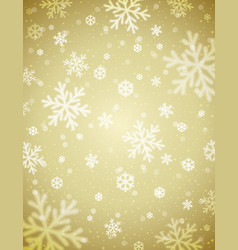 Beige christmas background with blurred vector