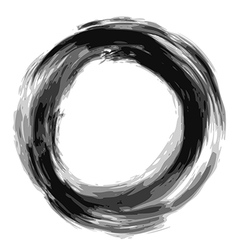 Doodle circle 03 vector