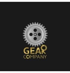 Gear logo vector