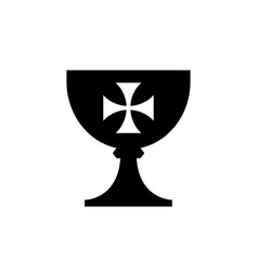 holy grail cup vector image