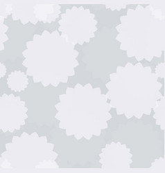 light floral seamless vector image