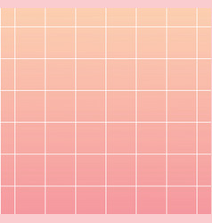 pink background with white grid backdrop for vector image