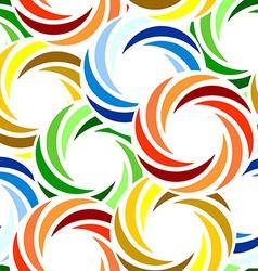 Seamless vivid swirl pattern vector