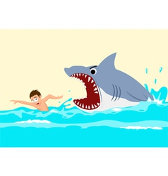 Shark Attacks vector