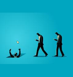 Social media impact vector