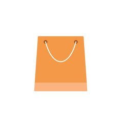 Store and shopping bag flat icon modern sign vector