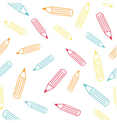 The pencil pattern vector