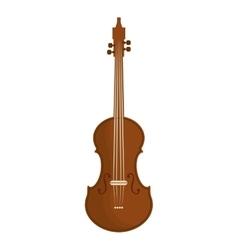 violin or viola icon image vector image