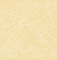 yellow map vector image