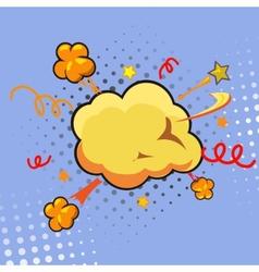Comic Speech Bubble Cartoon vector image