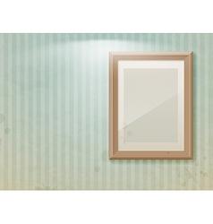 exhibition vintage stripe vector image