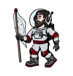 Astronaut modern creative vector