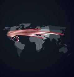 Communication United States vector