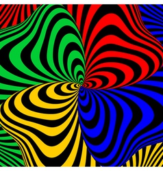 Design colorful swirl movement background vector