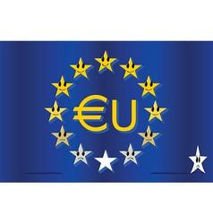 european hierarchy vector image