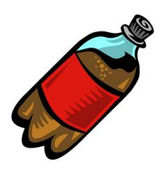 Soda pop bottle vector