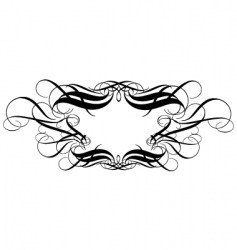 titling frame vector image vector image