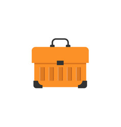 tool box flat icon build repair elements vector image