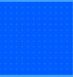 construction graph paper with marks blueprint vector image