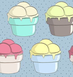 VintageIceCream4 vector image