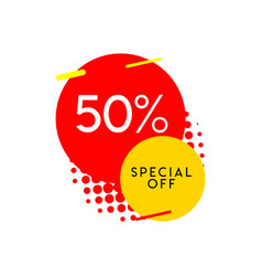 50 special off template design vector